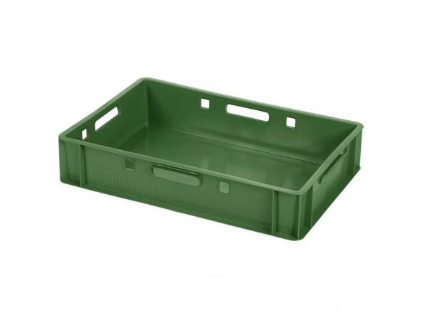Bac gerbable E1 - 600x400xH125mm - vert